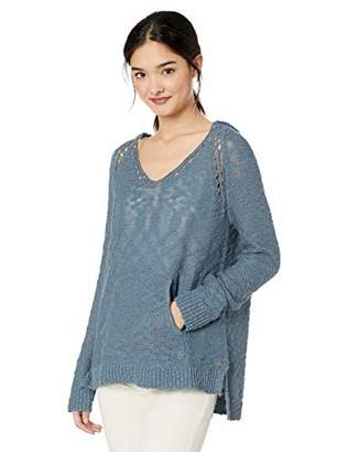 Roxy Junior's Airport Vibes Lightweight Hooded Sweater, M