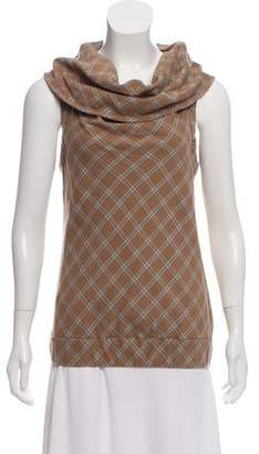 Marc by Marc Jacobs Plaid Sleeveless Top