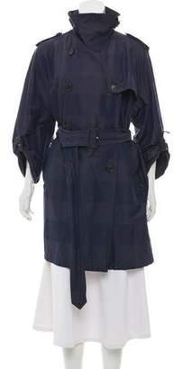 Aquascutum London Lightweight Knee-Length Coat