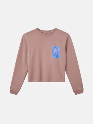 Outdoor Voices Womens Cropped Crewneck