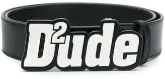 DSQUARED2 D2ude belt