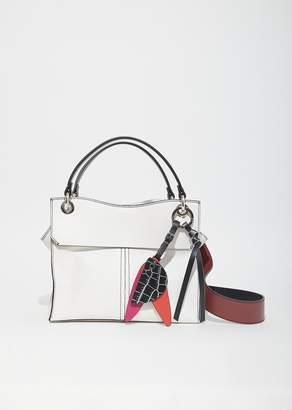 Proenza Schouler Leather Curl Handbag Optic White