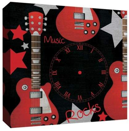 Music Rocks Decorative Canvas Wall Art 16