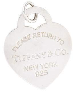 Tiffany & Co. & Co. Return to Heart Tag Charm