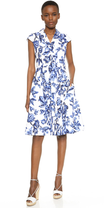 Lela Rose Shirtdress $1,195 thestylecure.com