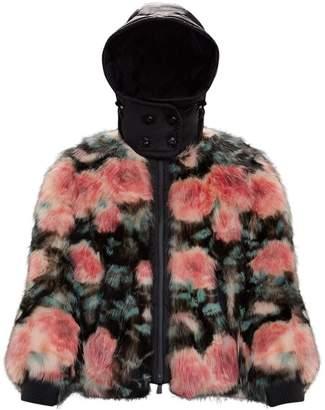 Moncler Genius Morens Floral Fur Jacket
