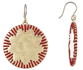 Lucky Brand Threaded Drop Earrings