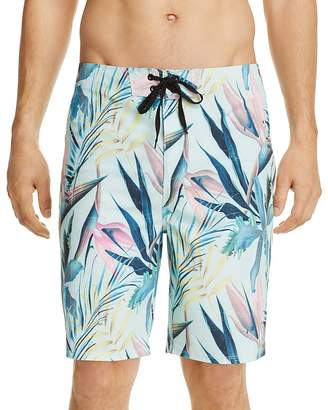 Hurley Phantom Tropical Print Board Shorts $65 thestylecure.com