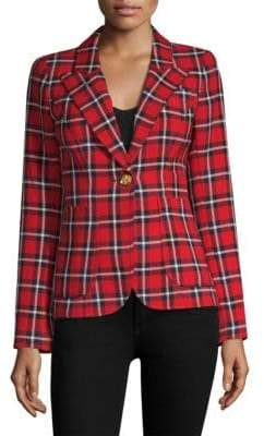 Smythe Duchess Plaid Blazer