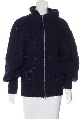 Armani Jeans Knit Zip-Up Sweater