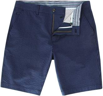 Linea Men's Sutton Seersucker Striped Short