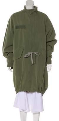 Bassike Military Long Coat w/ Tags