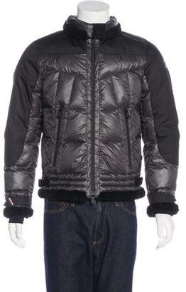 Moncler Alben Quilted Down Jacket