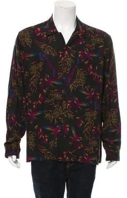 Supreme Birds Of Paradise Woven Shirt