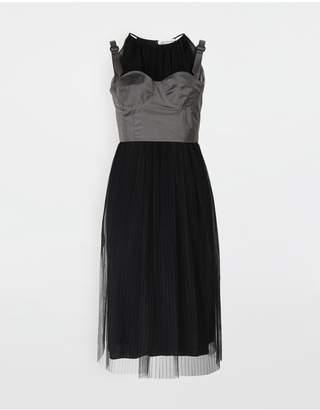 Maison Margiela Layered Tulle Midi Dress