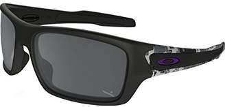 Oakley Men's Turbine Non-Polarized Iridium Rectangular Sunglasses