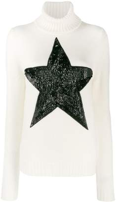 P.A.R.O.S.H. sequinned star jumper