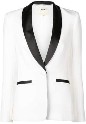 L'Agence classic tuxedo blazer