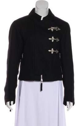 Dries Van Noten Wool Collared Jacket