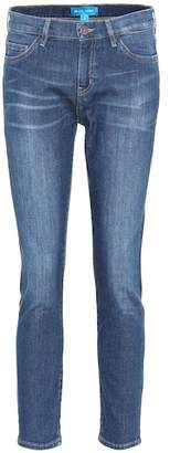 MiH Jeans Tomboy mid-rise cropped jeans