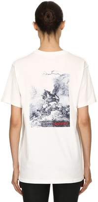 032c Logo Detail Organic Cotton T-Shirt