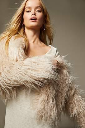 Free People Harmony Faux Fur Coat