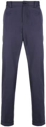 Dolce & Gabbana cropped straight leg trousers