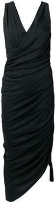 Lanvin ruched asymmetric dress