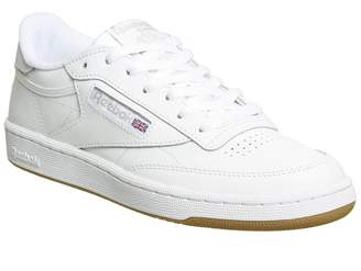 34769e47297 Reebok Club C 85 Trainers White Grey Gum