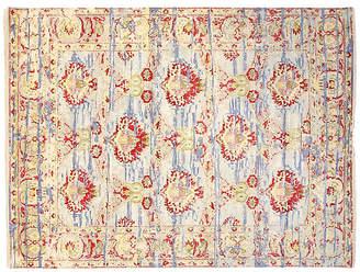 F.J. Kashanian 8'x10' Sari Wool Boca Rug - Beige