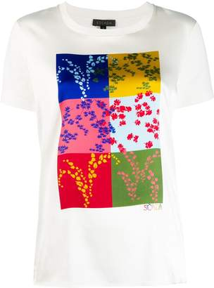 Escada square print T-shirt