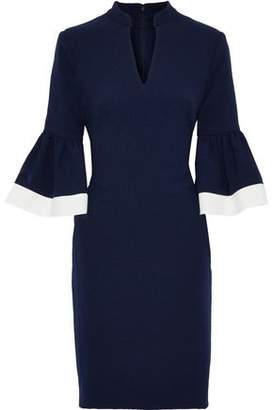 Mikael Aghal Fluted Cady Dress