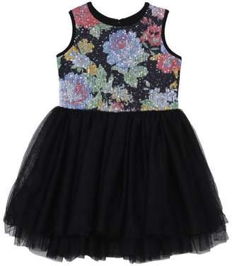 Pippa & Julie Little Girl's Floral Tutu Dress