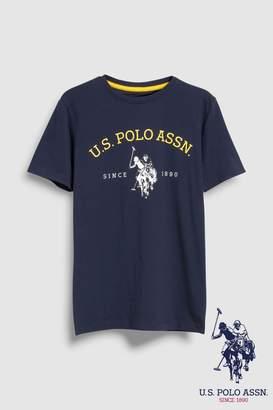 Next Boys U.S. Polo Assn. Navy Graphic Tee