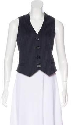 Marc by Marc Jacobs Striped Lightweight Vest