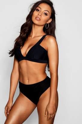 boohoo Piza Mix & Match Fuller Bust Bikini Top