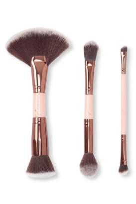 LUXIE JadeyWadey 3-Piece Glam Dual-Sided Brush Set