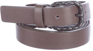 Bottega VenetaBottega Veneta Skinny Leather Belt