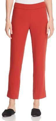 Eileen Fisher Silk Ankle Pants - 100% Exclusive