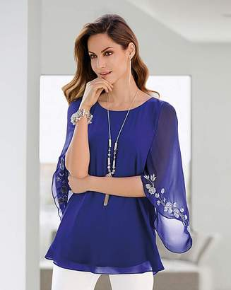 Together Embroidered Blouse