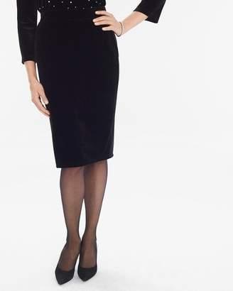 Travelers Collection Velvet Skirt