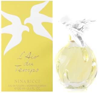 Nina Ricci L'air Du Temps Perfume by for Women. Eau De Toilette Spray 3.3 Oz / 100 Ml Refillable.