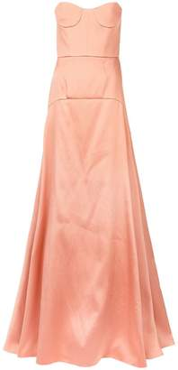 Rochas panelled flared dress