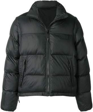 Perks And Mini Pam zip-off sleeve padded jacket