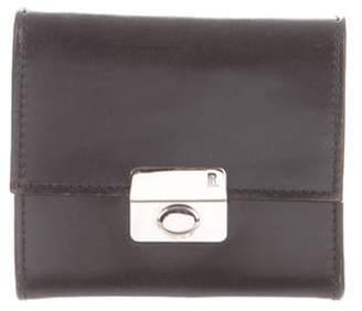 Ralph Lauren Purple Label Leather Cufflink Case black Leather Cufflink Case