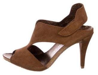 Pedro Garcia Suede High Heel Sandals