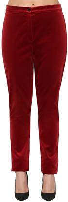 Marina Rinaldi Stretch Cotton Velvet Pants