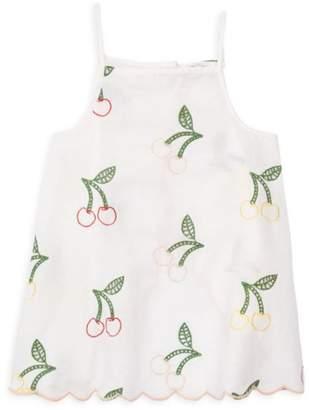 Stella McCartney Little Girl's & Girl's Cherry Embroidered Top