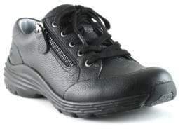 Nurse Mates Leather Stain-Resistant Lace-Up Shoes