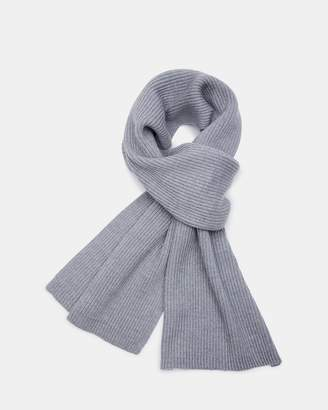 Theory Merino Wool Ribbed Scarf